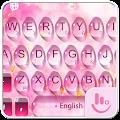 Pink Water Sakura Keyboard Theme download