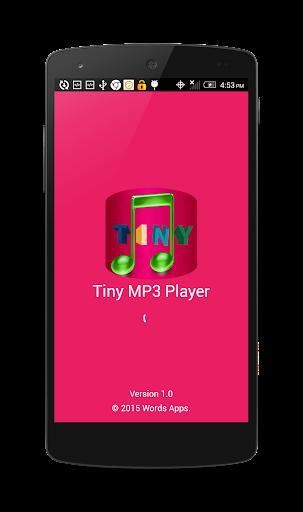 玩免費音樂APP 下載Tiny MP3 Player app不用錢 硬是要APP