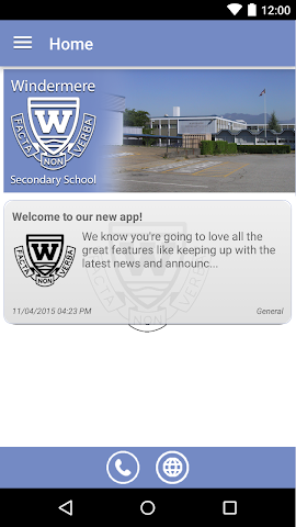 android Windermere Secondary Screenshot 0
