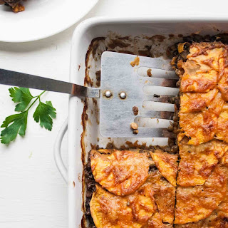Lentil and Sweet Potato Lasagne