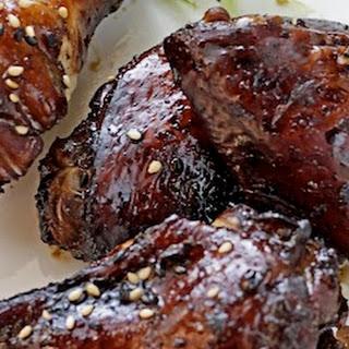 Black Pepper & Garlic Chicken Wings.