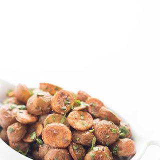 Spicy Lebanese Potatoes.