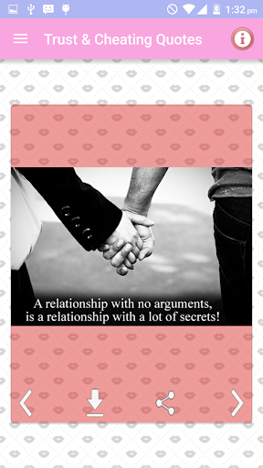 Trust & Cheating Quotes Images screenshots 2