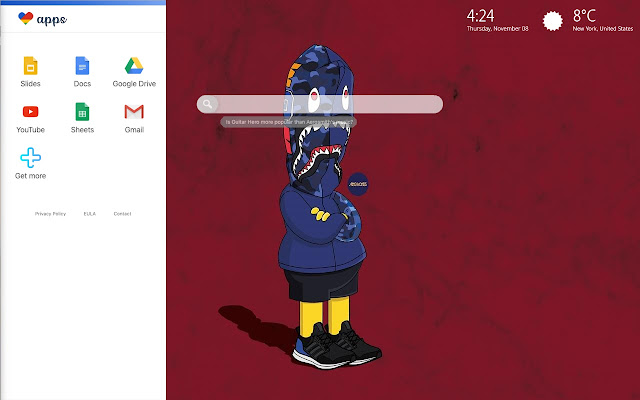 Bart Simpson Supreme Wallpaper Hd Theme Chrome Web Store