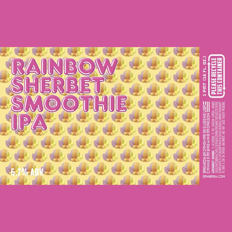 Logo of Oakshire Rainbow Sherbet Smoothie IPA