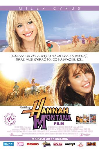 Polski plakat filmu 'Hannah Montana. Film'