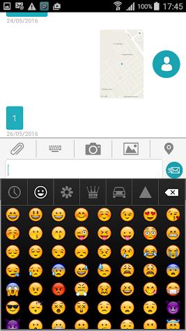 No Regrets Text Messaging Screenshot