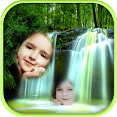 Waterfall Dual Photo Frames