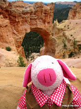 Photo: (Year 3) Day 48 - Pippa at the Bridge in Bryce National Park