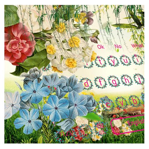 Color Flower Keyboard