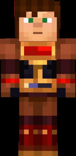 Cute Boy And Girl Wallpaper Download Jesse Ellegaard Armor Minecraft Story Mode Nova Skin