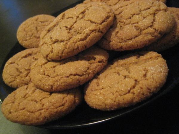 Jason's Big Soft Ginger Cookes Recipe