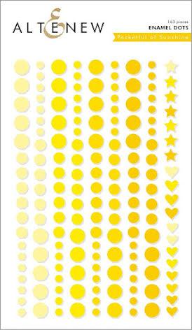 Altenew Enamel Dots 153/Pkg - Pocketful of Sunshine