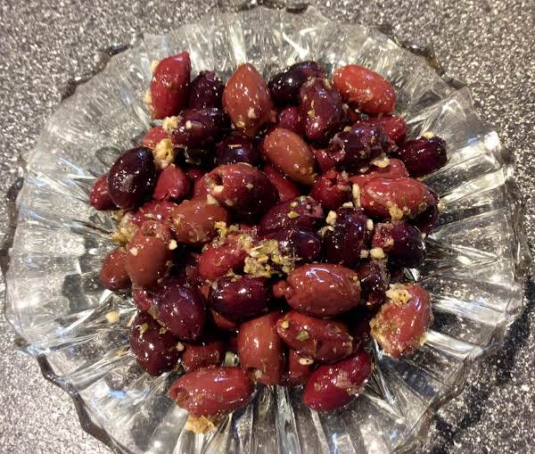 Marinated Greek Olives Recipe