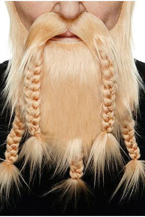 Vikingaskägg deluxe, blond