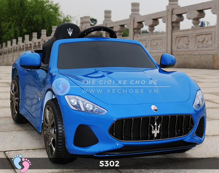 Ô tô cho trẻ em cao cấp Maserati S-302 11