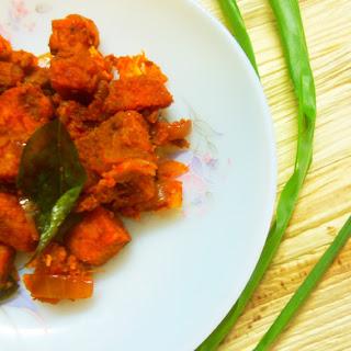 Spicy Masala Fried Yam