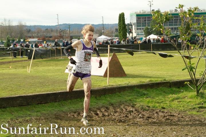 Lukas Verzbicas flies over a hay bale at the 2010 NXN.