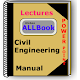 Civil Engineering Lecture & BooK & Notes 2019