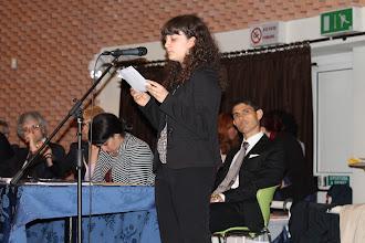 Photo: Lettura in traduzione dei testi del PIccolo Agone Placidiano: Giulia Nuti 5B
