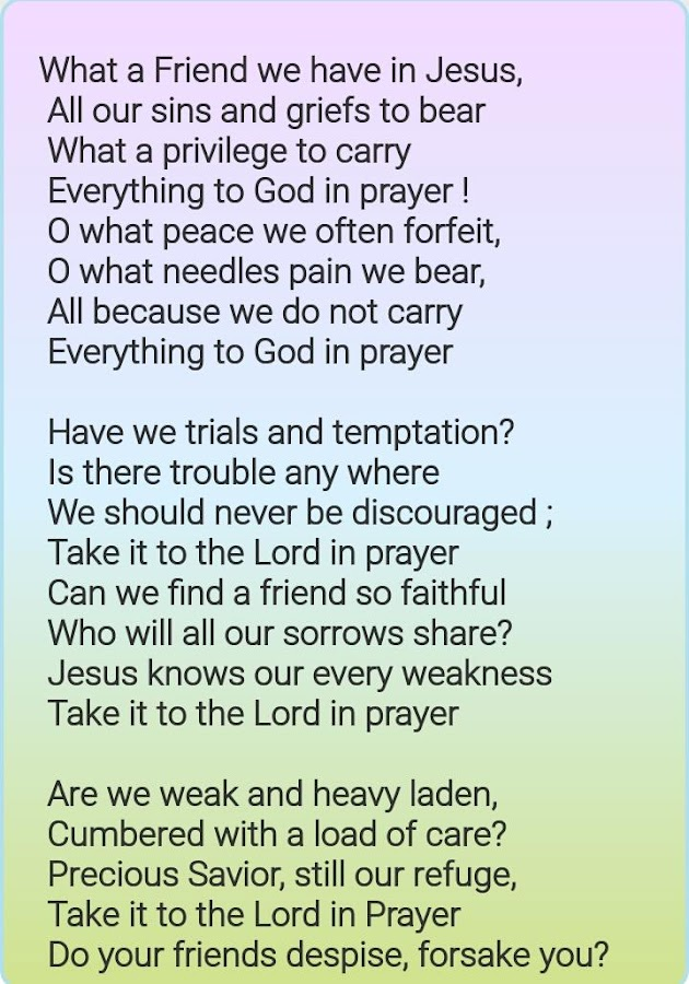Lyric learning to lean lyrics : Christian Lyrics - Android Apps on Google Play
