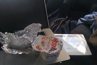 Photo: Nomadismo: repostando unos pocos nutrientes mientras despachas emails everywhere, everytime.