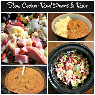 SLOW COOKER RED BEANS & RICE.