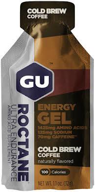 GU Roctane Energy Gel: Cold Brew Coffee, Box of 24 alternate image 1