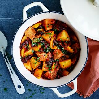 One Pot Potato and Pork Chili.