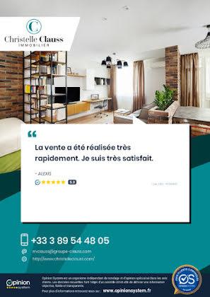 Vente appartement 2 pièces 45,82 m2