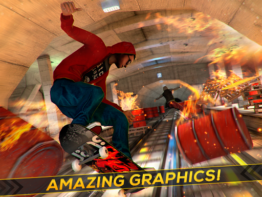 Skateboard Fire Run! 1.3.0 screenshots 5