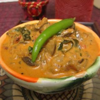 Homestyle Eggplant Curry - Kerala Style