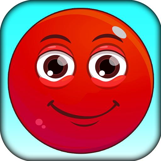 ???? Red Jumpy Ball Kill Time ???? 棋類遊戲 LOGO-玩APPs