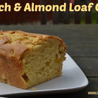 Peach & Almond Loaf Cake