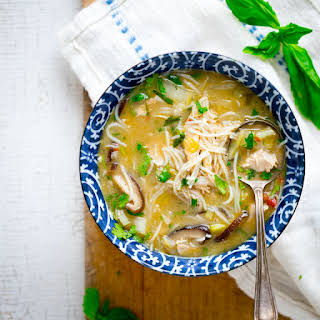 Slow Cooker Chicken Coconut Soup.