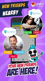 Yogrt: Meet Friends Nearby screenshot 01