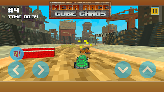 Mega Race Cube Chaos - náhled
