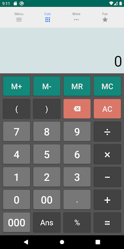 All-in-one Calculator 1.1.1 screenshots 1