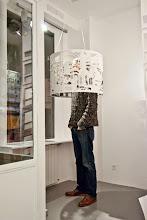 Photo: Opening SCENES - Claudia Larcher, 22,48m2 Galerie, Paris, November  2014
