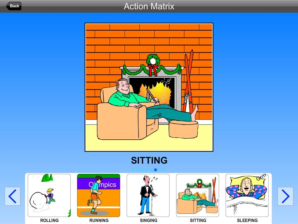 Action Matrix- screenshot
