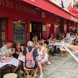 restaurants around the Sacre-Ceour in Paris, Paris - Ile-de-France, France