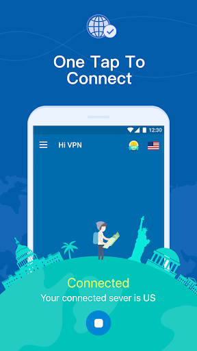 Hi VPN - Super Fast VPN Proxy, Secure Hotspot VPN  screenshots 2