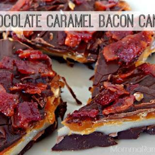 Chocolate Caramel Bacon Candy