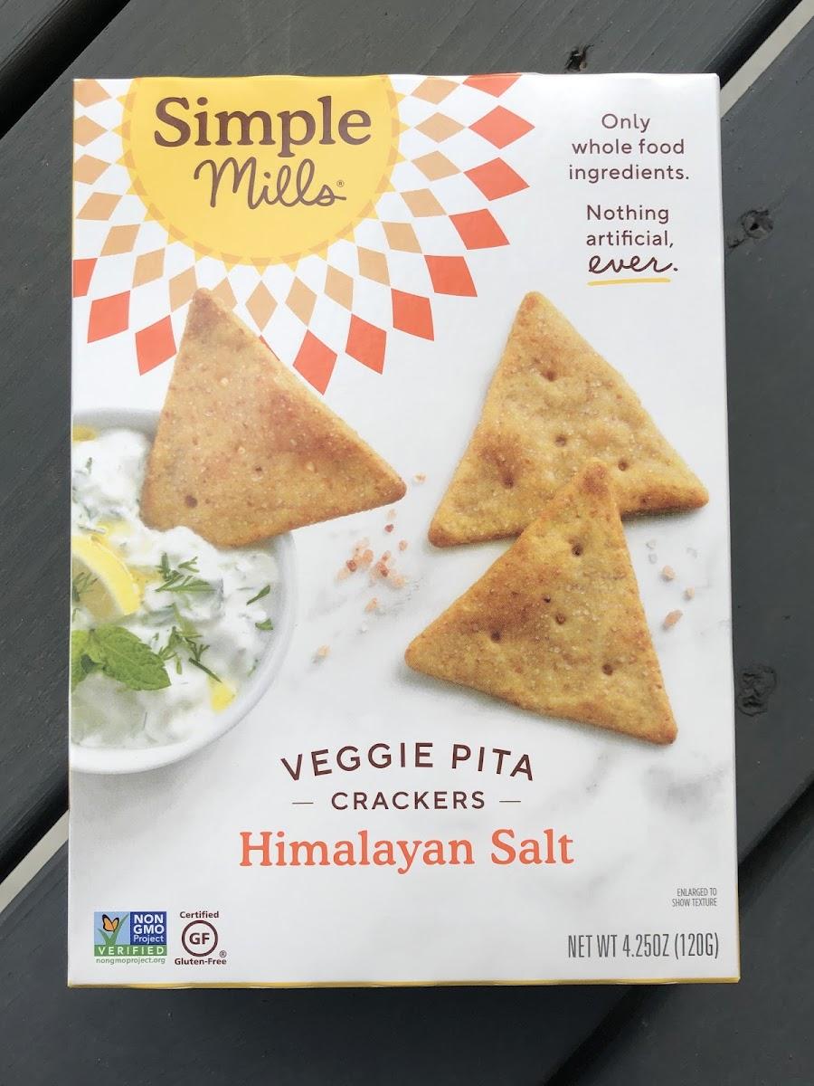 Veggie Pita Crackers