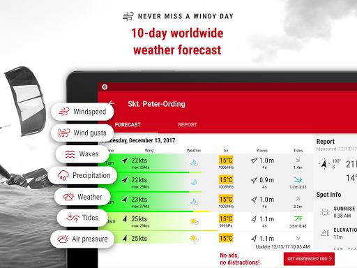 Windfinder - weather & wind forecast 3.15.0 screenshots 8