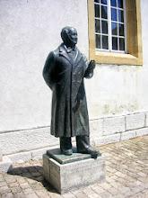 Photo: Jeremias Gotthelf ( Albert Bitzius in Murten  geboren am 4. 10. 1797 gest. 22.10. 1854. )