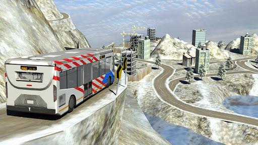 Snow Hill Bus Drivingsimulator 1.2 screenshots 9