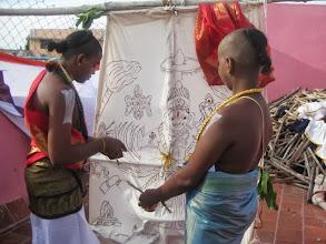 Photo: Garuda pooja