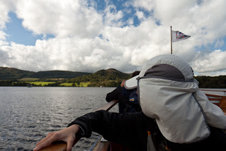 Photo: On the ferry back to Ullswater