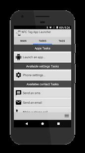 NFC Tag app & tasks launcher - náhled